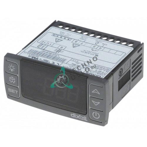 Контроллер Dixell XR20CX-0P1C1 71x29мм 12VAC/VDC датчик NTC/PTC -50 до +150°C для холодильного оборудования