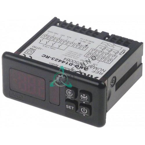 Контроллер D14423-RC RS485 71x29мм 90-240VAC NTC/PTC/DI IP65
