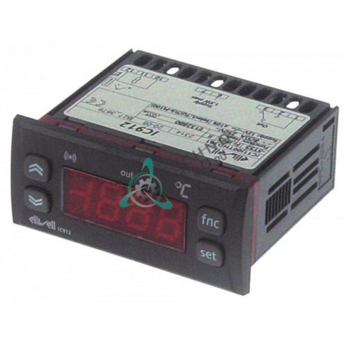 Контроллер Eliwell IC901 71x29мм/74x32 мм 230VAC -55 до +150°C датчик NTC/PTC IP65 холодильной камеры и др.