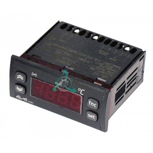 Контроллер Eliwell IC901 71x29мм 230VAC -55 до +150°C датчик NTC/PTC 1 реле (AC1) 8A для холодильного оборудования