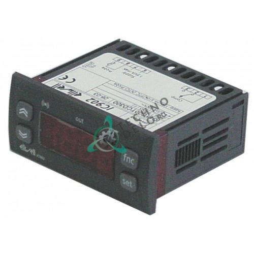 Контроллер Eliwell IC902 71x29/74x32мм 12VAC/VDC датчик NTC/PTC 1 реле 105790 106189 106386 для Blanco, Electrolux, Zanussi