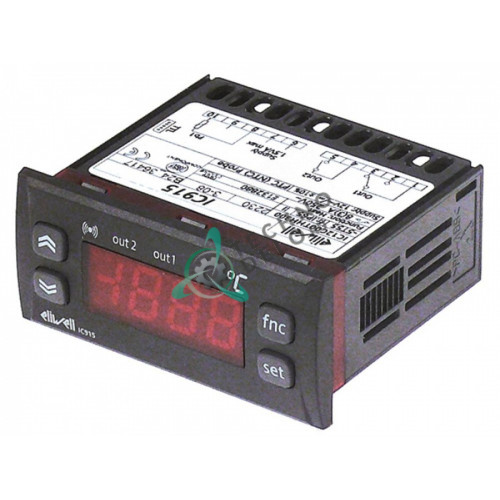 Контроллер Eliwell IC915 71x29 мм 12VAC/VDC датчик NTC/PTC 2 реле 8A RIC0003634 2959300 для COLGED, MARENO и др.