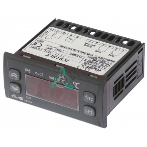 Контроллер Eliwell IC915 71x29мм 230VAC 2 реле (AC1)8A для профессионального теплового оборудования