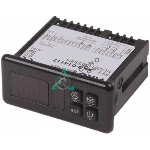 Контроллер AKO D14112 RS485 -50 до +99/+150°C 71x29мм 12/24В датчик NTC/PTC IP65