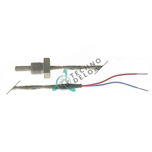 Датчик температурный L(Fe-CuNi) ø4x13мм M10x1 кабель Vetrotex L-1,9м для Küppersbusch
