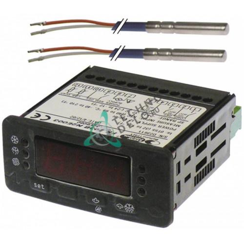 Контроллер EVCO 71x29/33x75мм 12VAC датчик NTC 1 реле 32V6080 холодильной камеры Angelo Po CX130B, SAGI RX150B и др.
