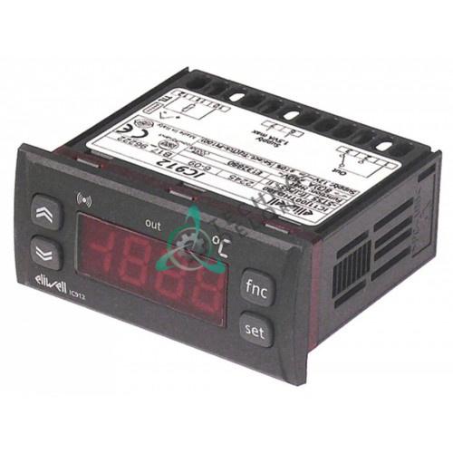 Контроллер Eliwell IC912 71x29мм 12V датчик Pt100/TC 12016193 для пароконвектомата Fagor HGV-10-11/HGV-20-11 и др.