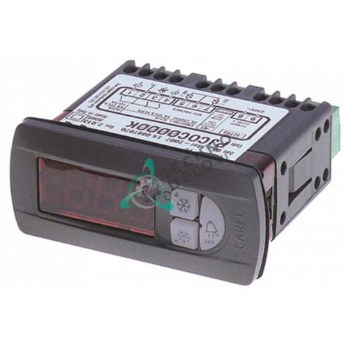 Контроллер (электронный термостат) CAREL PJCOC0000K 71x29мм 230VAC датчик NTC реле компрессора 8A DEF 5A FAN 5A