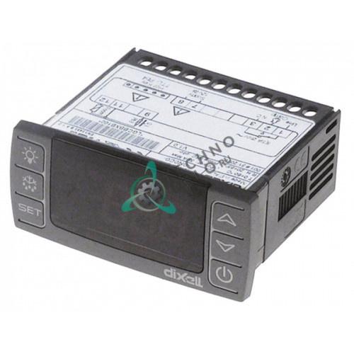 Контроллер Dixell XR20CX-0N0C0 71x29мм 12VAC/VDC датчик NTC/PTC -50 до +150°C X0LGCBBXB100-S00 холодильной камеры