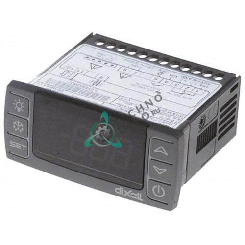 Контроллер Dixell XR30CX-5N0C1 71x29 230VA датчик NTC/PTC 2 выхода реле -50 до +150°C для холодильной камеры