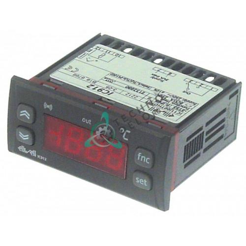 Контроллер Eliwell IC912 IC11J00THD701 0C3100 71x29мм 230VAC датчик TC-J для пицца-печи Cuppone, Zanussi и др.
