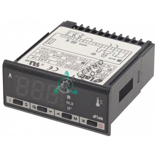 Электронный регулятор LAE AT2-5BS4E-AG для оборудования Colged, Elettrobar, Foster и др. / service parts universal