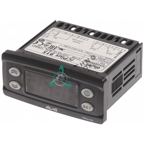 Контроллер Eliwell ICPlus915 ICP22DI350000 71x29мм 12VAC/VDC -50 до +140°C датчик NTC/PTC для холодильной камеры и др.