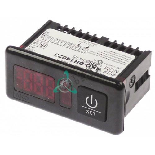 Термометр электронный AKO-DH14023 71x29мм 230VAC -50 до +99°C датчик NTC
