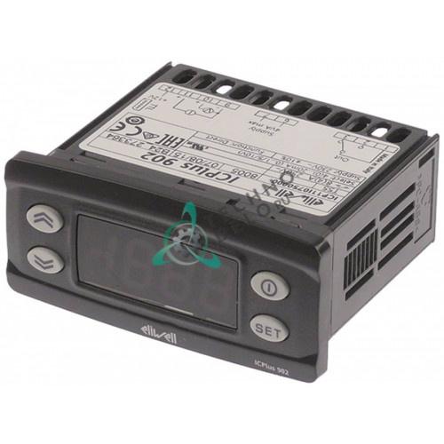 Контроллер Eliwell ICPlus902 ICP11I0750000 71x29мм 230VAC датчик мВ/мА CO-8A(3) температурно-влажностный