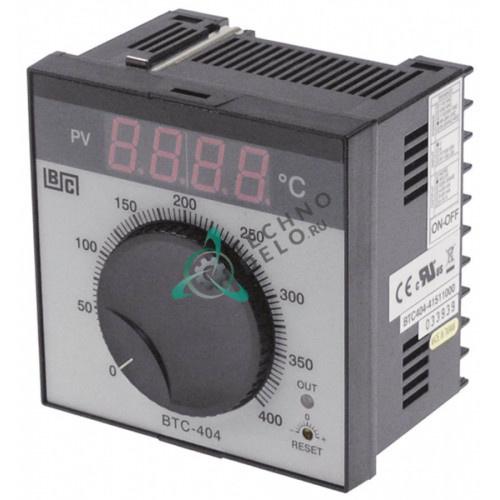 Контроллер Brainchild BTC404 41511000 ON-OFF 0 до +400°C датчик TC IP54