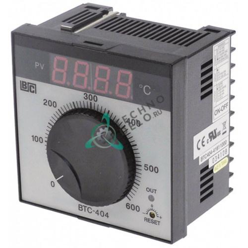 Контроллер Brainchild BTC404 41611000 ON-OFF 0 до +600°C датчик TC IP54