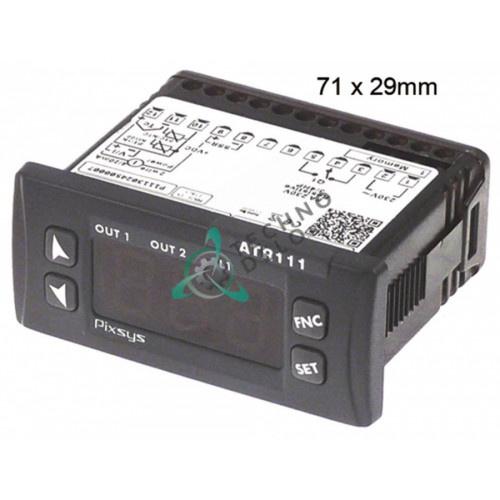 Электронный терморегулятор PIXSYS ATR111-B 91310031 для Cuppone EVOLUTION, EV / Electrolux и др.