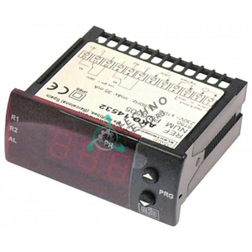 Контроллер AKO-14532 71x29мм 230VAC 4-20ма°C IP65 влажность/давление