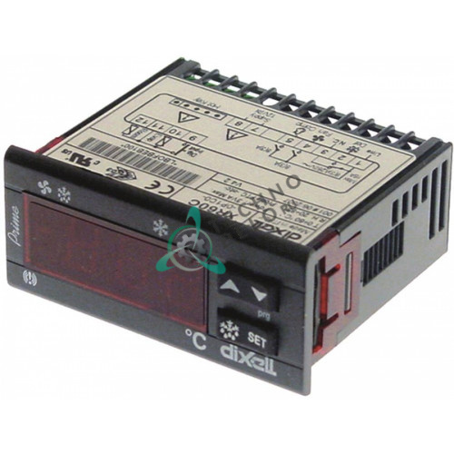 Контроллер Dixell XR60C 71x29мм 12V тип датчика NTC/PTC для профессионального холодильного оборудования
