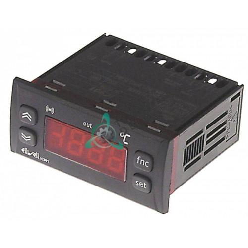 Контроллер Eliwell 71x29мм 230VAC датчик NTC/PTC R0052 универсальный для теплового оборудования Metalcarrelli