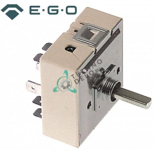 Энергорегулятор EGO 50.59070.048 240В 13А ось 6x4,6x19мм резьба 3/8-24UNF для электроплит Star Manufacturing и др.