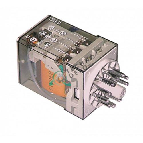 Реле Finder 60.13.8.024.0040 (24 В перем. ток 10А 3CO) для оборудования Omas и др.