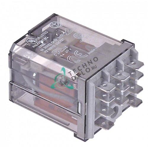 Реле Finder 62.83.8.024.4007 24VAC 16A 3CO DER11BT для посудомоечной машины Colged 63, 64