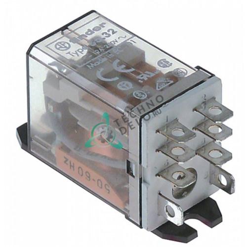 Реле Finder 56.32.8.230.0006 / 230В 12А 2CO для оборудования Nuova Simonelli и др.