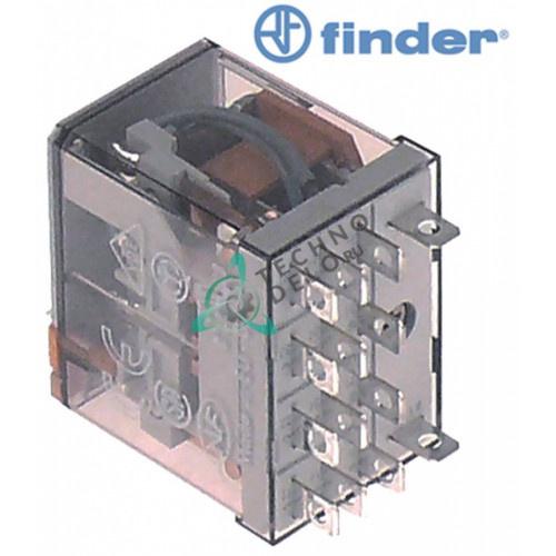 Реле Finder 56.34.8.230.0040 230VAC 12A 4CO для профессионального оборудования Electrolux, Zanussi и др.