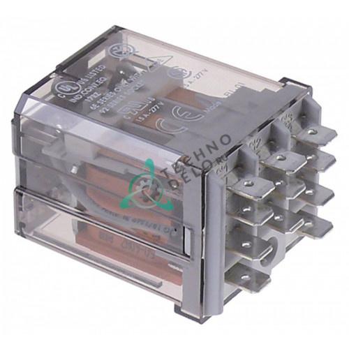 Реле Finder 62.83.8.230.0009 230VAC 16A 3CO плоский штекер 6,3мм универсальный для оборудования HoReCa