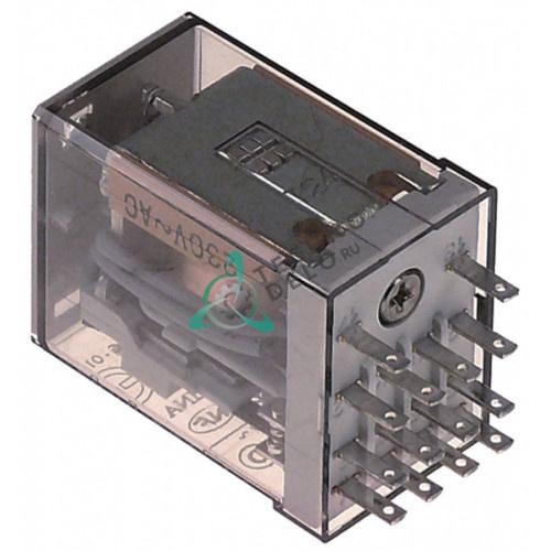 Реле Finder 55.34.8.230.0000 (230VAC 7А 4CO) цоколь 94.74/ZMD4 для оборудования Frigomat и др.