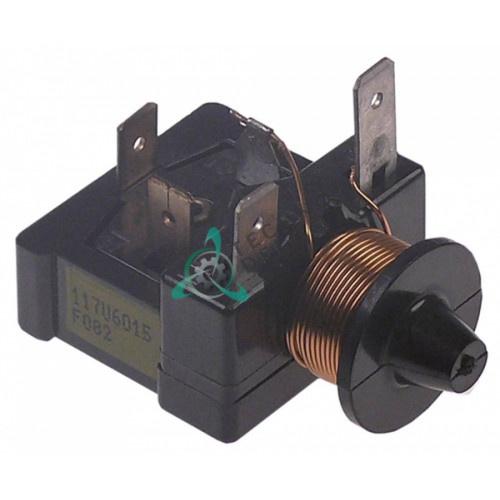 Реле пусковое DANFOSS 117U6015/F082 HST 12040409 6004000006 для холодильного шкафа Fagor AFP-2103/AFP-2104 и др.