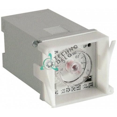 Реле времени Finder 88.02.0.230.0002 0,05с-100ч 24-230 VAC/VDC 45x45мм 049235 для Electrolux, Zanussi и др.