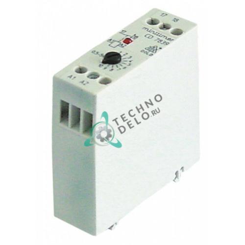 Реле времени Dold CD7839.65/100 диапазон 0,5-5 с 220-240VAC 4А 1NO 228180 для Hobart FM-30/FM-30U/FX/GX и др.