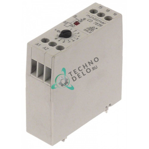 Реле времени Dold CD7839.71 диапазон 15-300 секунд 220-240VAC 4A 1CO 3104150 для посудомоечной машины Winterhalter
