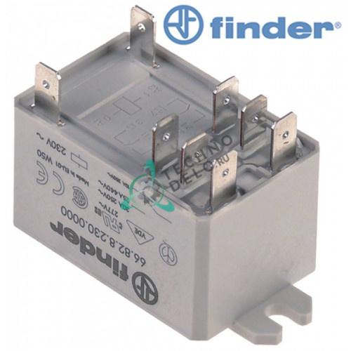 Реле FINDER 66.82.8.230.0000 / 3038640 для макароноварки Angelo Po 0G1СP1G и др.