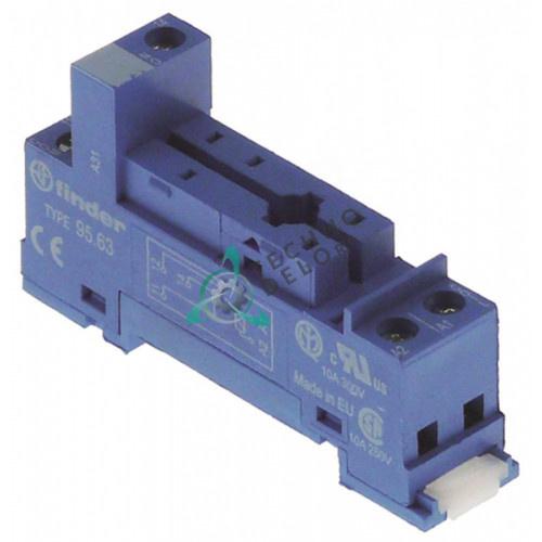 Цоколь реле Finder 95.63 5 полюсов 250В 10А 02022035 для кофейного оборудования Elektra и др.
