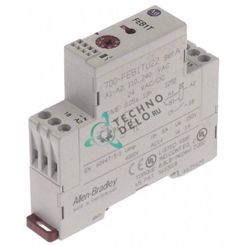 Реле времени Allen-Bradley 700-FEB1TU22 0,05с-10ч 1NO 5A 13124 для ATA и др.