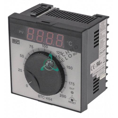 Контроллер Brainchild BTC404 41311000 ON-OFF 0 до +200°C 90-264В датчик TC IP54