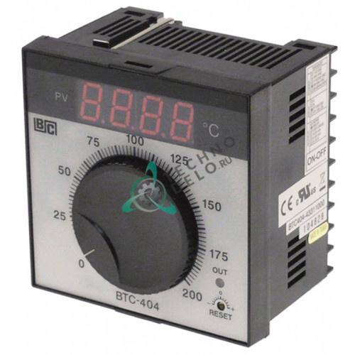 Контроллер Brainchild BTC404 43311000 ON-OFF 0 до +200°C 90-264В датчик Pt100 IP54