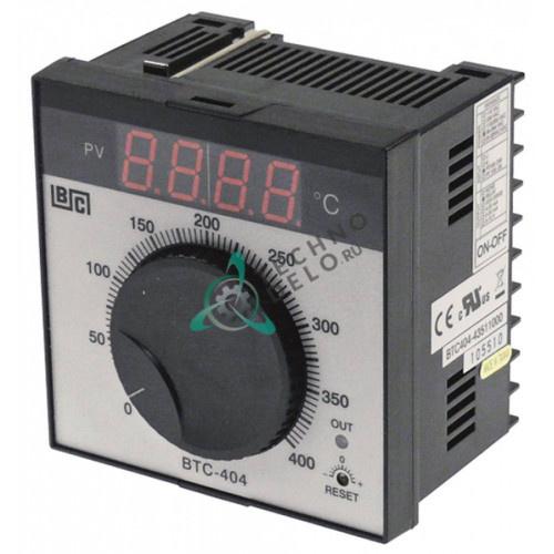 Контроллер Brainchild BTC404 43511000 ON-OFF 0 до +400°C 90-264VAC датчик Pt100 IP54