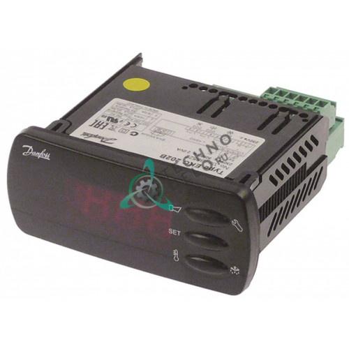 Контроллер Danfoss EKC202B-084B8522 71x29мм 230VAC датчик NTC/PTC/Pt1000 IP65 холодильного оборудования и др.