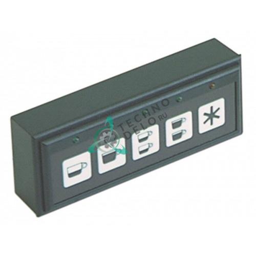 Панель управления Gicar 9.9.10.17 5 кнопок 00384035 для кофемашины Elektra, Brugnetti C