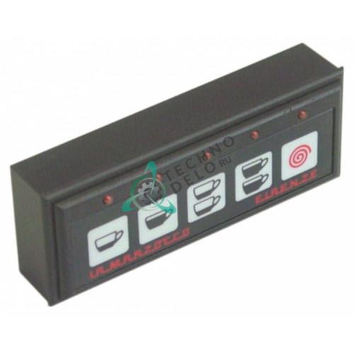 Панель управления Gicar DOS MICRO LAD071VT 5 кнопок для профессионального кофейного оборудования La Marzocco