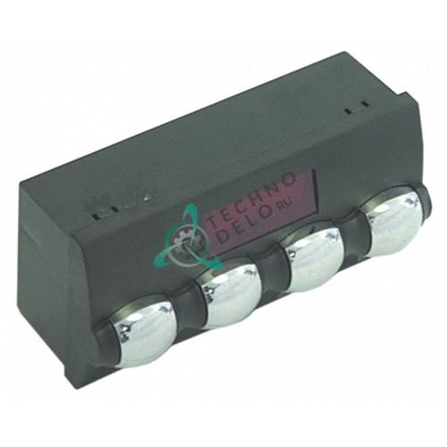 Панель управления 4 кнопки 119x51мм WY18371048 для кофемашины Wega CMA Sphera/Tron