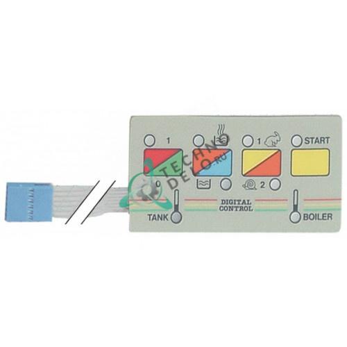 Панель управления (гибкая) 500032400 80001799 для посудомоечной машины Mach MS1100 и др.