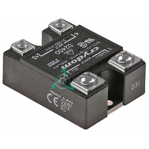 Реле полупроводниковое Crydom D2450 1 фаза 50A 240V 3-32VDC 59x46мм 101285 микроволновой печи TurboChef и др.