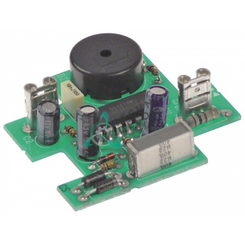 Электронный зуммер 230VAC 15 секунд 48x45мм BUZ000, TM012, KTM0012B для печей Unox, Garbin, Gierre и др.