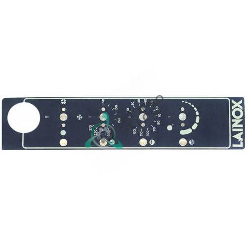 Стикер 50708710 67010010 панели управления для профессиональной конвекционной печи LAINOX PE08/PE12 и др.